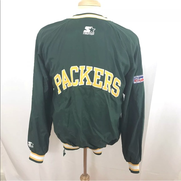 d6d8764b Vintage 90's Starter Pullover Green Bay Packers